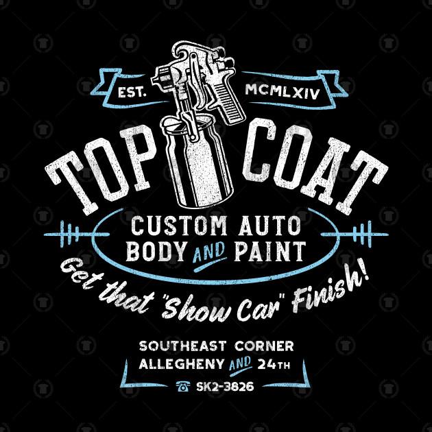 Top Coat Custom Car Paint Shop Hot Rod Tapestry Teepublic