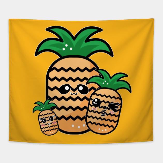 Kawaii Pineapples