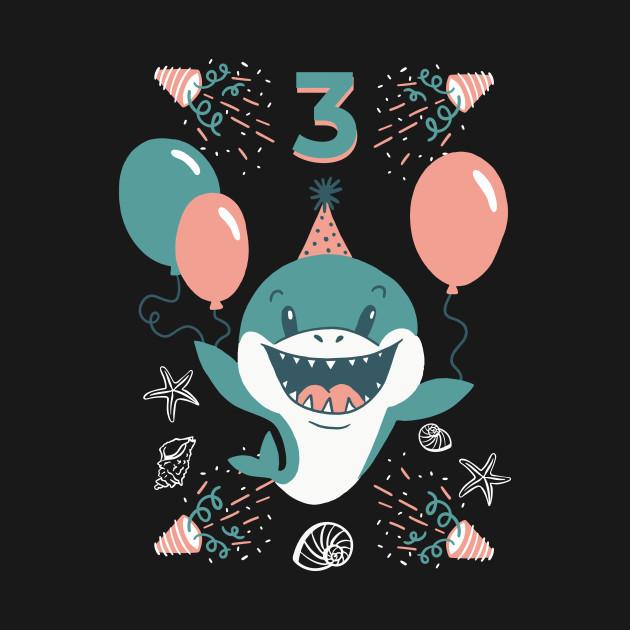 3rd Birthday Baby Shark