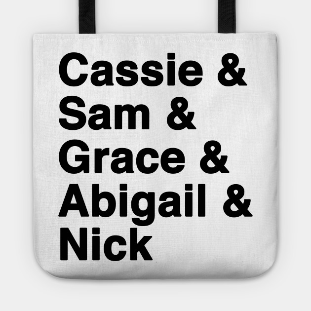 Good Witch Favorite Characters: Cassie, Sam, Grace T-shirt