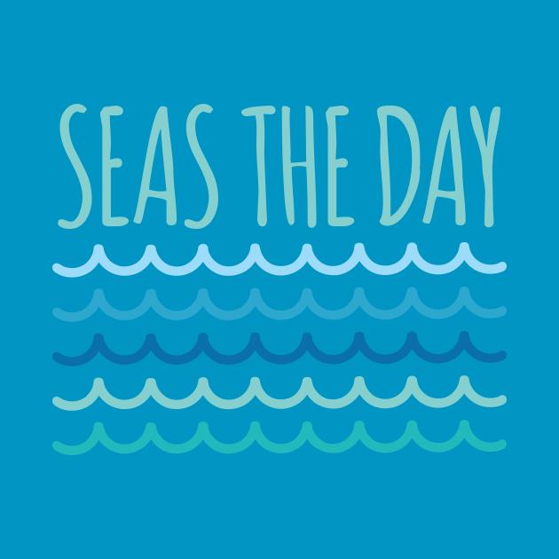Seas The Day Funny Pun
