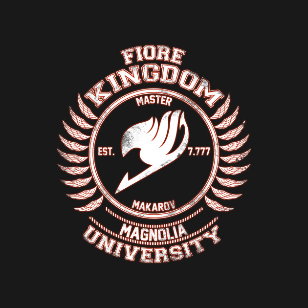 Magnolia University white red
