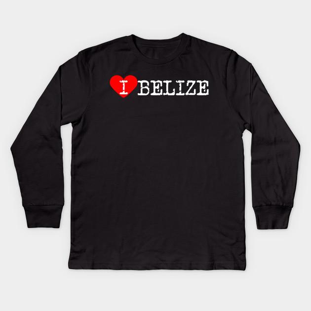I Love Heart Belize Sweatshirt