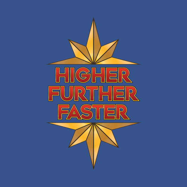 Captain Marvel - Higher Further Faster