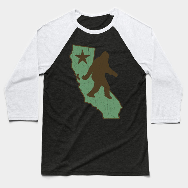 California Bigfoot (vintage distressed look)