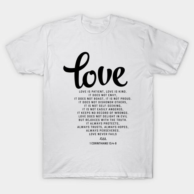 8816b9b2 Love is patient, Love is kind, 1 Corinthians 13:4-8 - Love Is ...