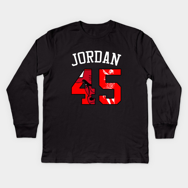 3d4e56c222d9ac 45 Jordan - Jordan - Kids Long Sleeve T-Shirt
