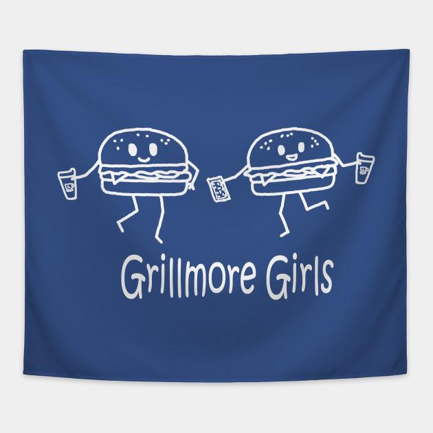 Grillmore Girls White Pocket