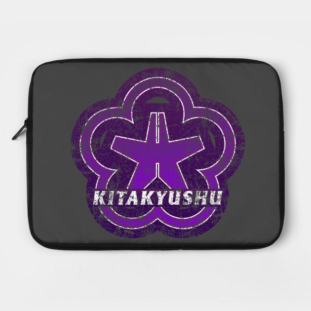 Kitakyushu Municipality Japanese Symbol Distressed
