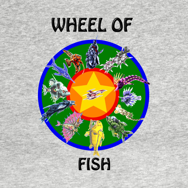 WHEEL...OF....FISH!!!! Darius Style