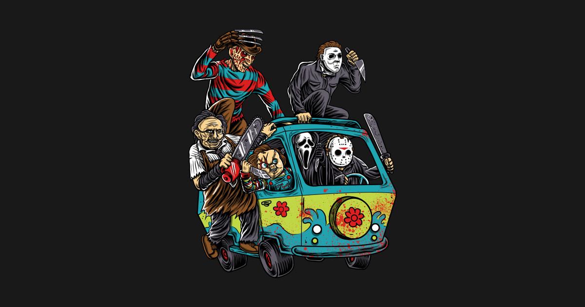 3eccc1f4e60 The Massacre Machine - Horror - T-Shirt