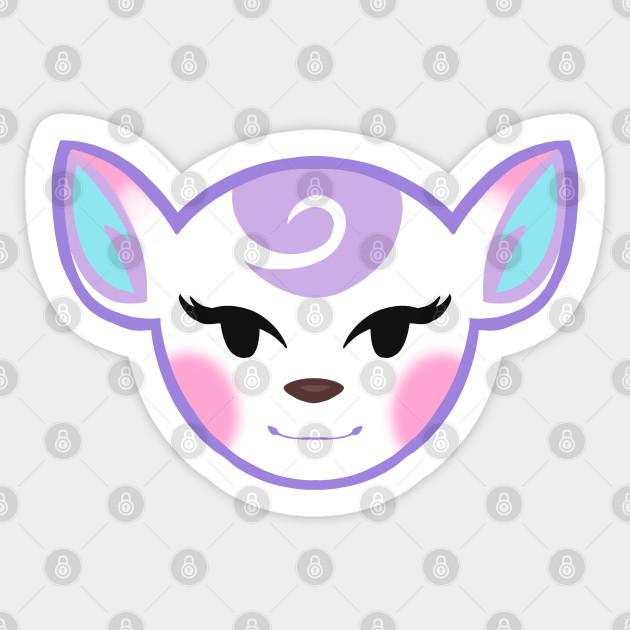 Diana Animal Crossing Icon Diana Sticker Teepublic
