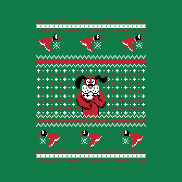 Festive Duck Hunt - Ugly Sweater