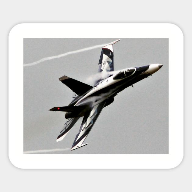 F-18 Hornet Sticker Decal Vinyl f18 jet aircraft
