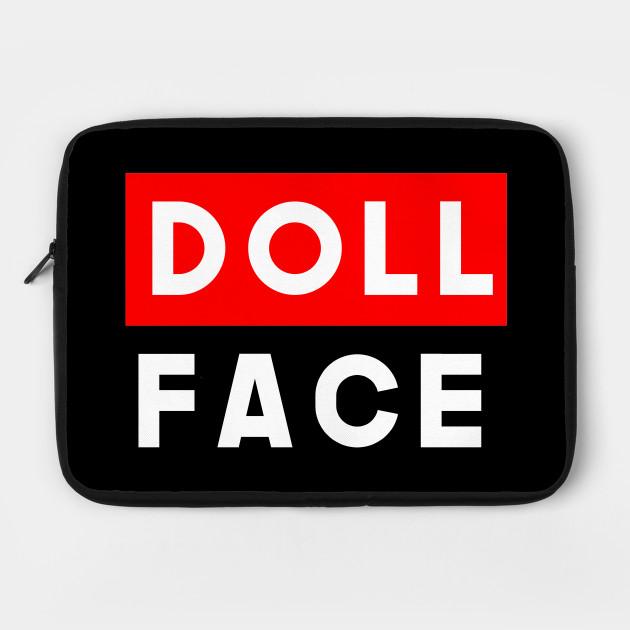 Feminist Doll Face Slogan