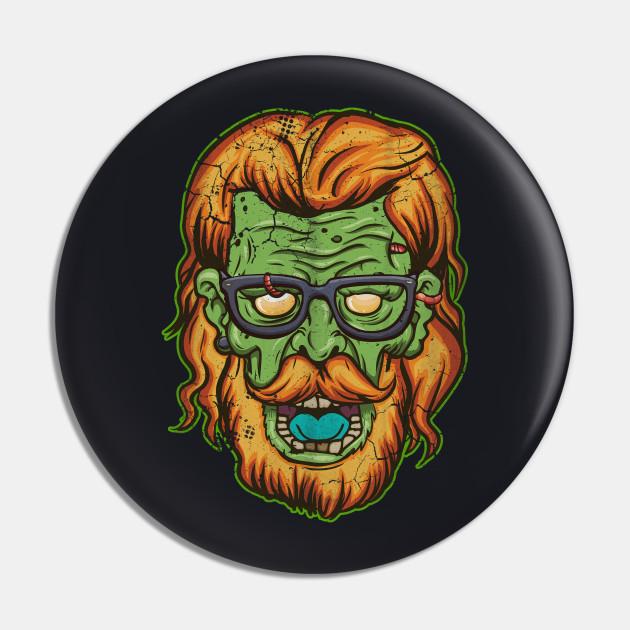 Halloween Zombie Hipster