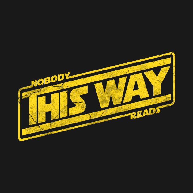 Nobody This Way Reads