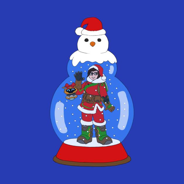 Christmas Mei Snowglobe