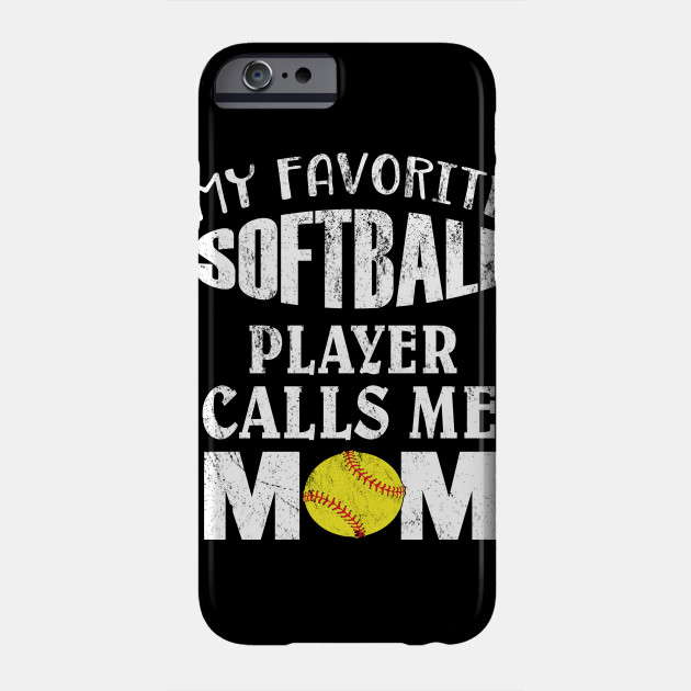 My Favorite Softball Player Calls Me Mom - Funny Coaches product