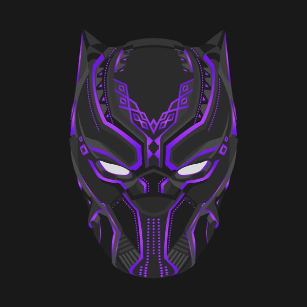 Black Panther Purple Black Panther Kids T Shirt TeePublic