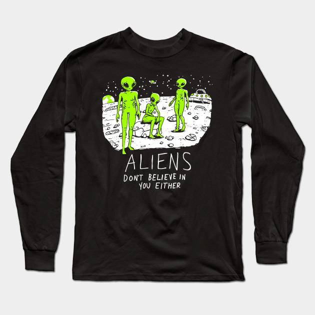 ALIEN UFO SPACE funny gift NEW xmas birthday gift ideas boys girls top T SHIRT