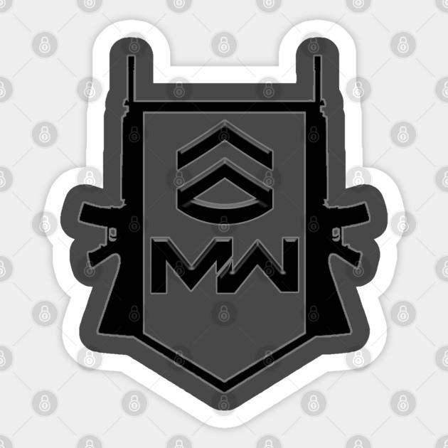 Call Of Duty Modern Warfare Call Of Duty Sticker Teepublic