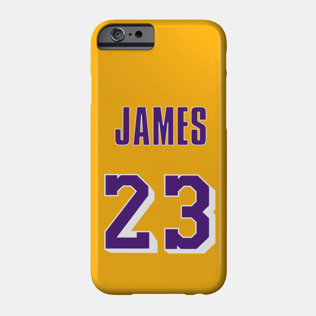 LeBron James Throwback Lakers Jersey 1