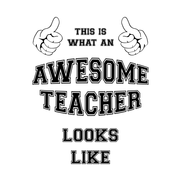 This is what an awesome teacher looks like.