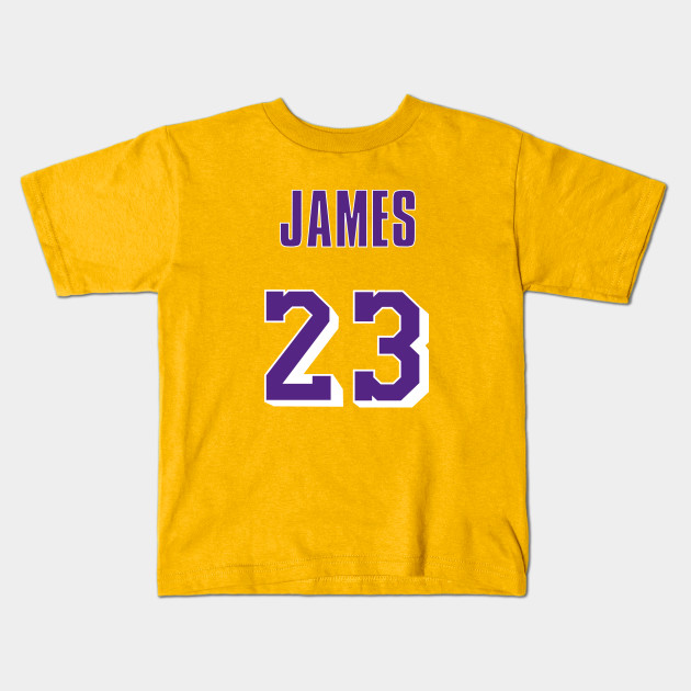 pretty nice cd793 41f5e LeBron James Throwback Lakers Jersey 1