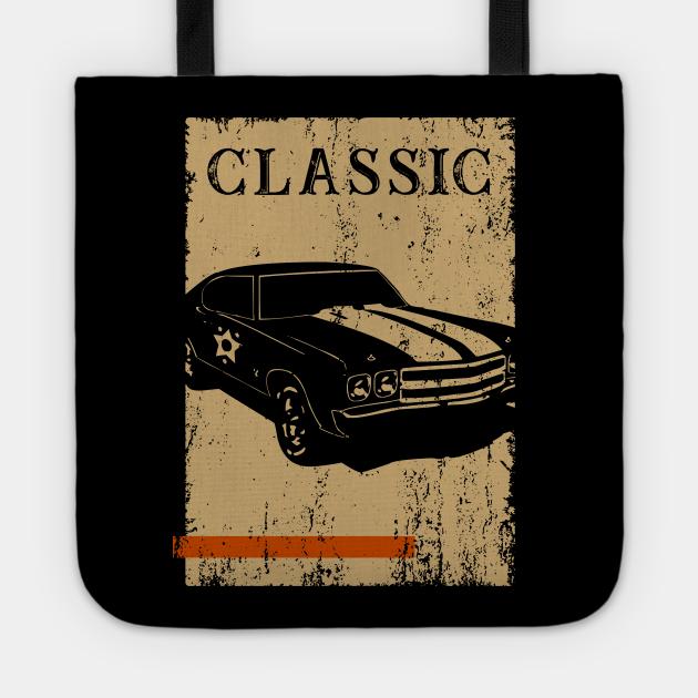 Vintage Classic Muscle Car