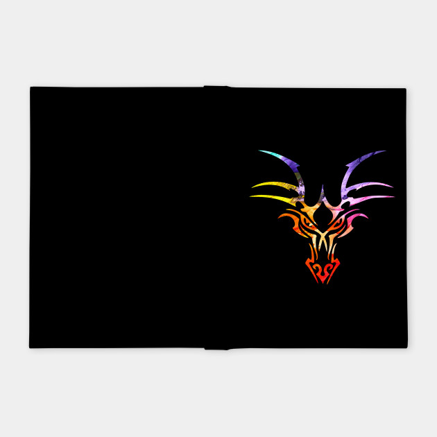 Dragon Head Abstract2