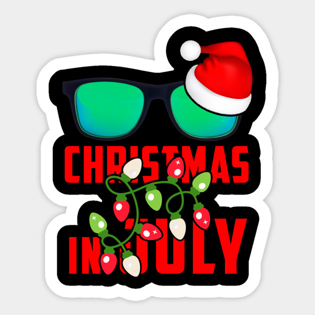 Christmas In July Clipart.Christmas In July Tee Xmas Hawaii T Shirt