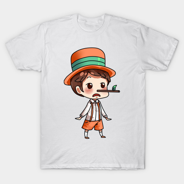 Disney Boys Pinocchio Nose Still T-Shirt