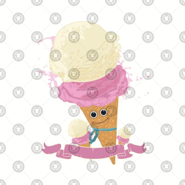 Happy Ice Cream Cone