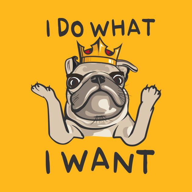 5673998a Villi pug KING - Pug - Kids T-Shirt | TeePublic
