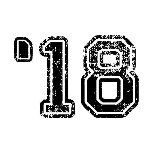 '18 - 2018