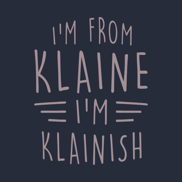 I'm From Klaine