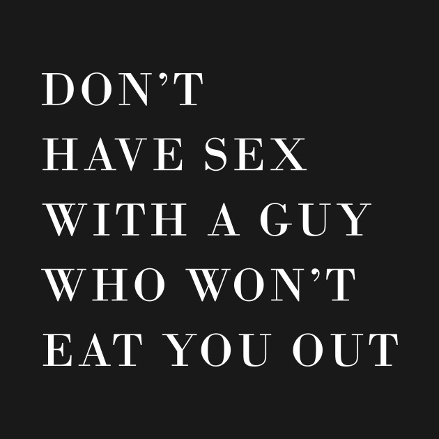 Guys that dont have sex