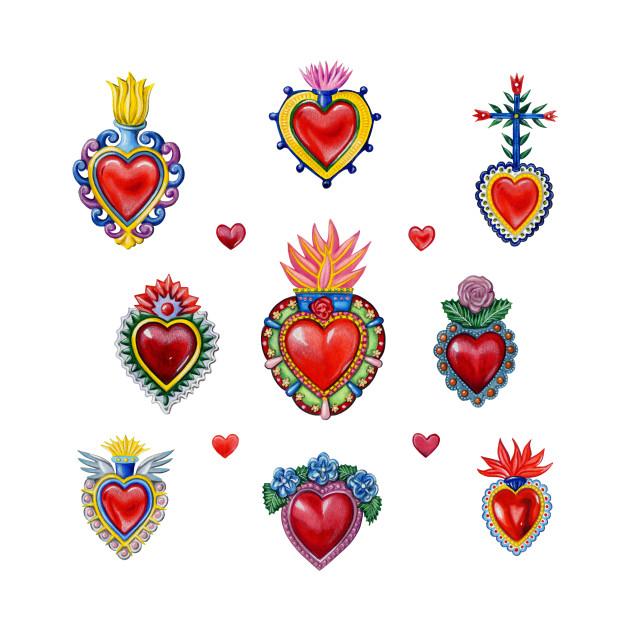 Mexican Sacred Hearts