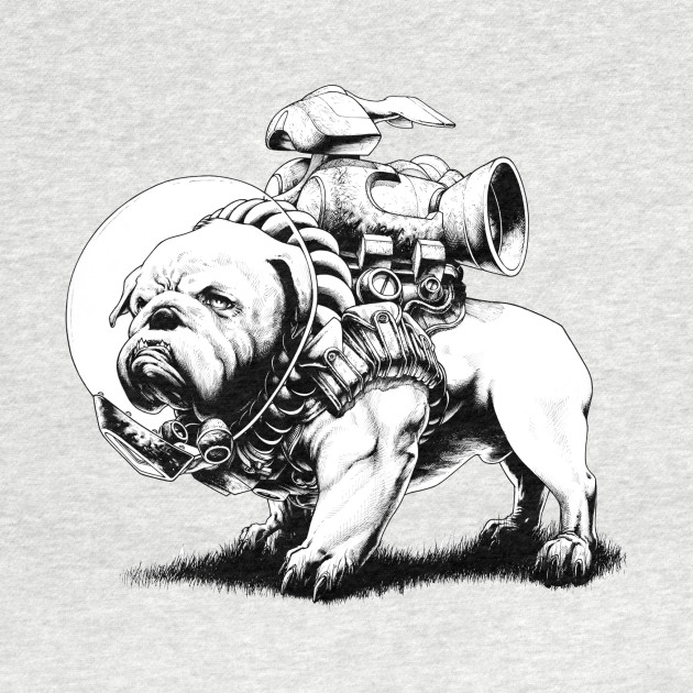 Jetpack Dog | Bulldog