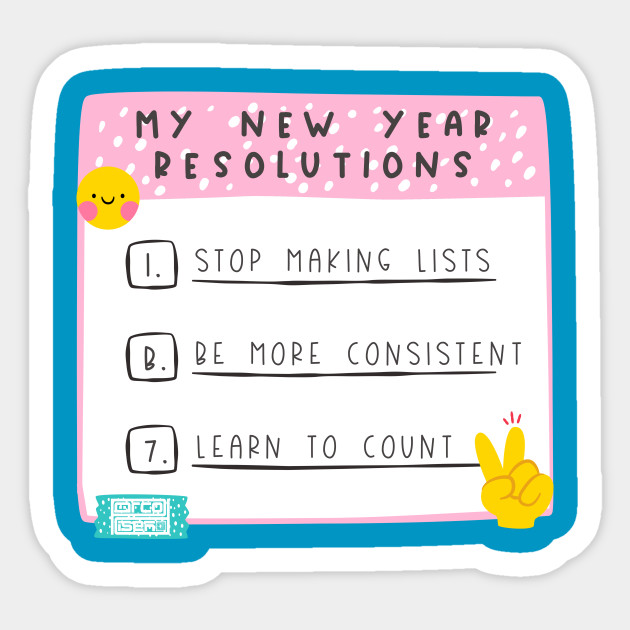 Image result for new year resolution list
