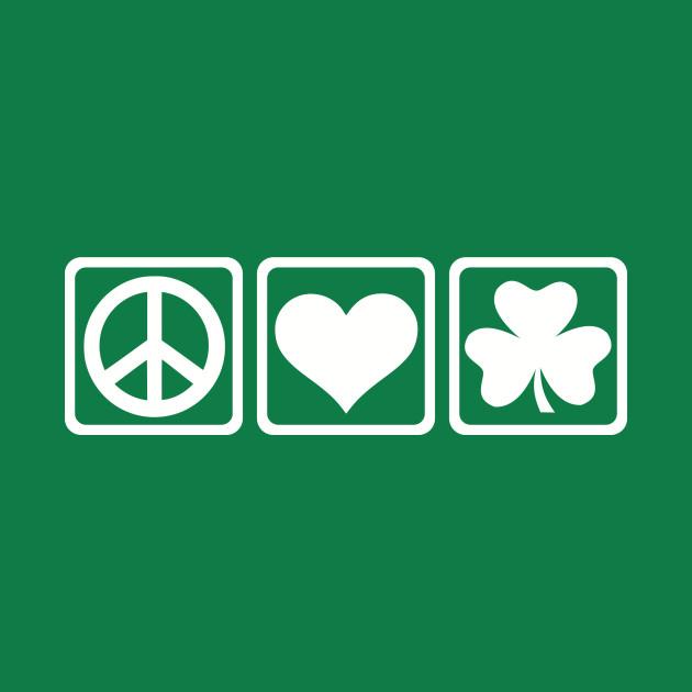 Peace love Shamrock