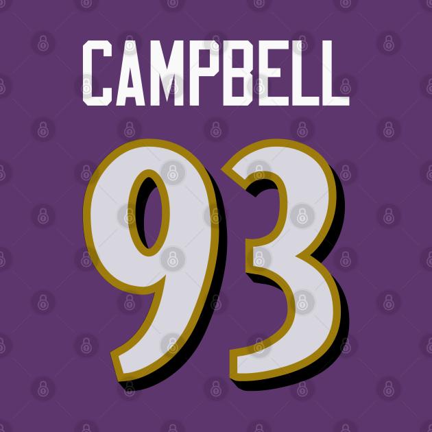 NFL Calais Campbell Baltimore Ravens Jersey