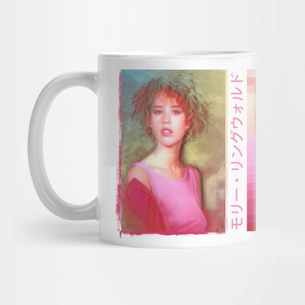 Molly Ringwald 80s Aesthetic Graphic Design Molly Ringwald Mug Teepublic