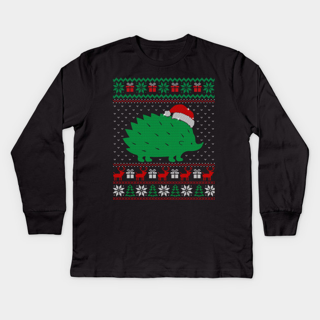 Hedgehog Christmas Jumper.Ugly Christmas Sweater For Hedgehog Lovers