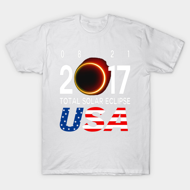 08 21 2017 Solar Eclipse USA T-Shirt-TOZ