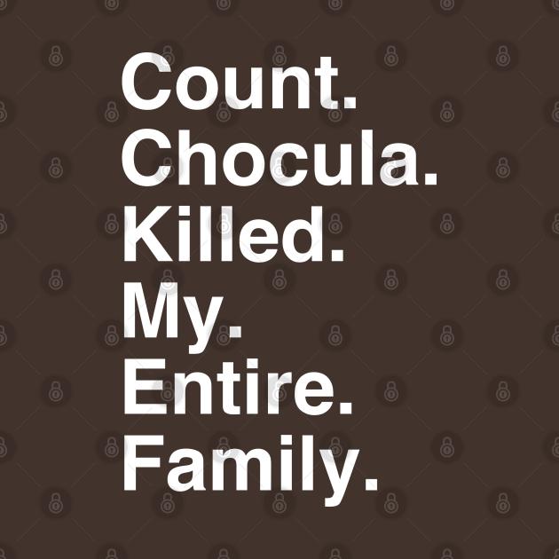 Count Chocula is a Murderer