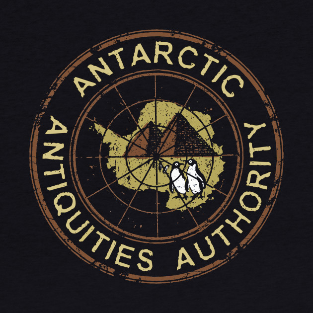 Antarctic Antiquities Authority - Roundel (black only)