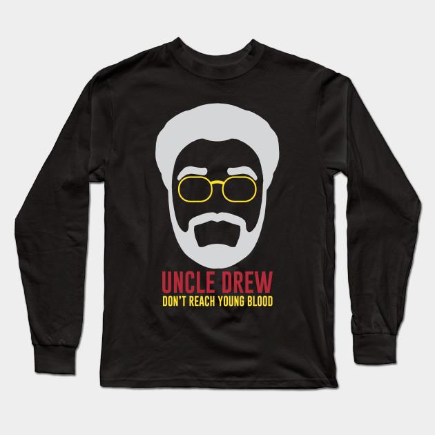 12b518a7a Dont Reach Young Blood - Kyrie Irving - Long Sleeve T-Shirt | TeePublic
