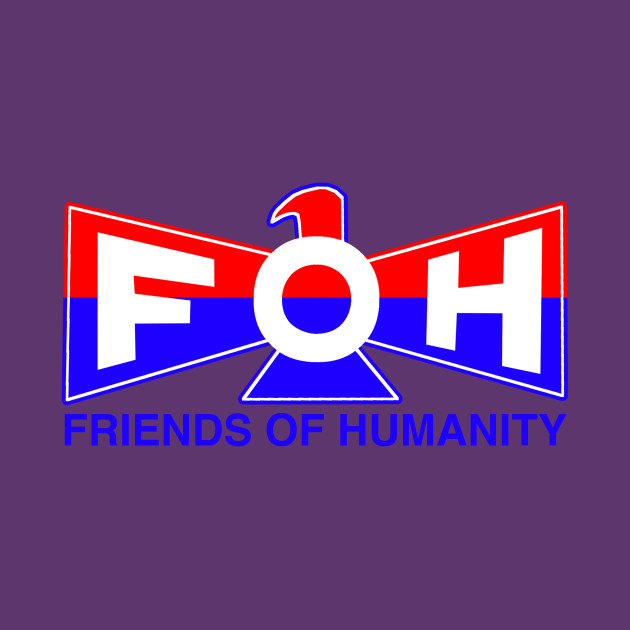 Friends Of Humanity Superheroes T Shirt Teepublic